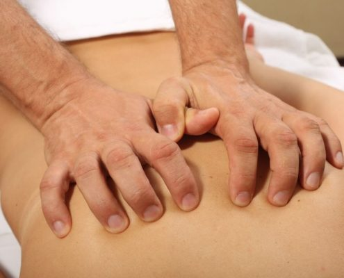 Разминающий (структурный) массаж