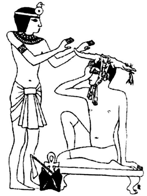 Египтяне изобрели рефлексологию